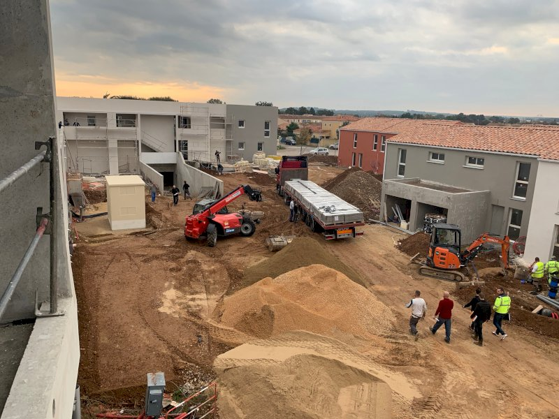 Construction de 24 immeubles - Istres